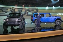 Jim Morrison, head of Jeep brand, FCA - North America, reveals 2021 Jeep® Wrangler Rubicon 392 in Detroit, Michigan