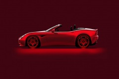 Open air beauty: Alfa Romeo 8C Spider (rendering by Centro Stile)